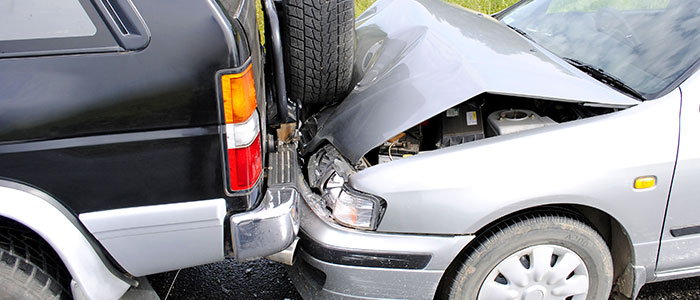 car accident caused by drunk driver